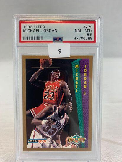 1992 Fleer Michael Jordan PSA 8.5