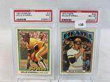 1981 Donruss PSA 9 & 1972 Topps Willie Stargell