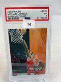 1993 Hoops Michael Jordan Supreme Court PSA 7