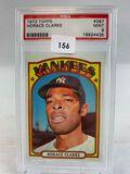 1972 topps Horace Clark PSA 9
