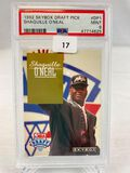 1992 Skybox Draft Pick Shaquille O'Neal PSA 9