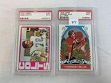 1972 Topps Bubba Smith & Forrest Blue PSA 7's