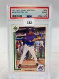 1991 UD Final Edition Ken Griffey Jr. PSA 9
