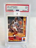 1991 Upper Deck Michael Jordan PSA 9