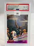 1993 Stadium Club Beam Team Shaquille O'Neal Psa 8