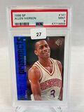 1996 SP Allen Iverson PSA 9
