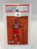 1996 Upper Deck Rookie Exclusives Allen Iverson PSA 8