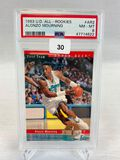 1993 Upper Deck All Rookies Alonzo Mourning PSA 8