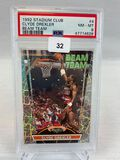 1992 Stadium Club Beam Team Clyde Drexler PSA 8