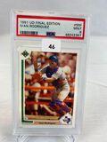 1991 Upper Deck Final Edition Ivan Rodriguez PSA 9
