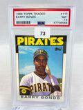 1986 Topps Traded Barry Bonds PSA 7.5