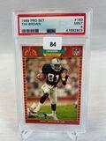 1989 Pro Set Tim Brown PSA 9