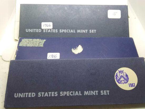 2-1966,67, U.S. SPECIAL MINT SETS