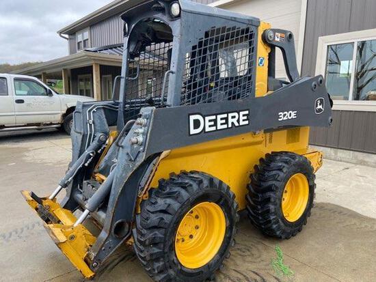 2017 Deere...320 E skid loader 410 Hrs.;...VIN 1T0320EAVHJ316273