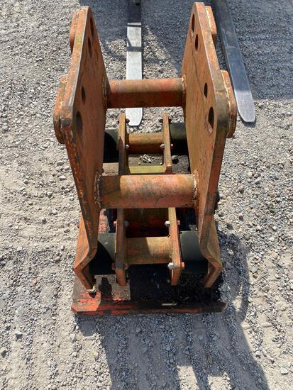 Hydraulic 24?x 32? Compactor excavator mounts