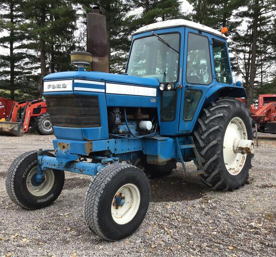 Ford 8700 tractor,6500 hrs. New Tires, New clutch, dual remotes.