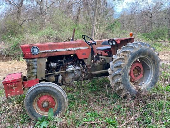 Massey...165 tractor, gas