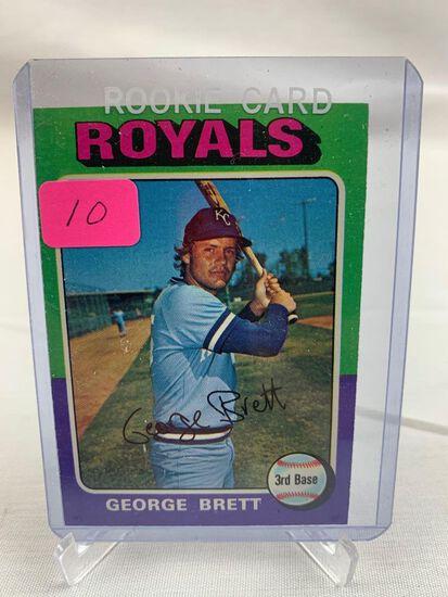 George Brett 1975 Topps Rookie