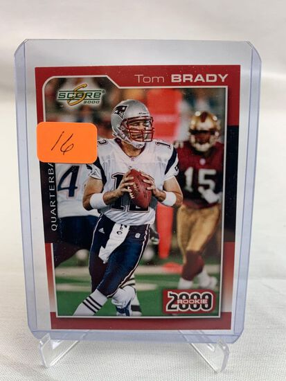 Tom Brady 2012 Flashback rare card