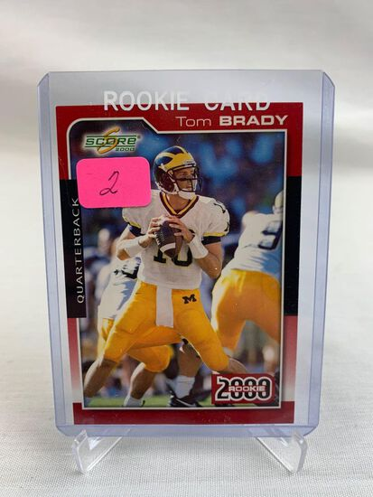 Tom Brady Rookie card, Score 2000