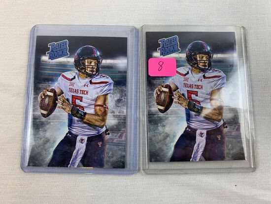 Patrick Mahomes Rookie (two)