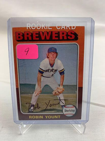 Robin Yount 1975 Rookie, Topps