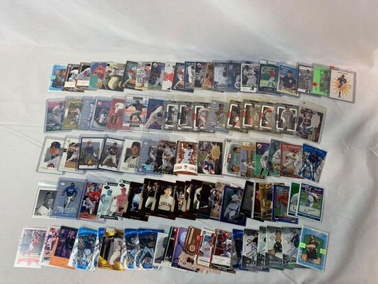 Lot of 95 Serial #'D Baseball cards, loaded with stars