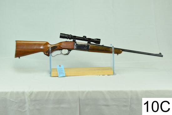 Savage    Mod 99-C    Cal .308 Win    SN: B020482    W/Bushnell 3-9x    W/Spare Mag    Condition: 65