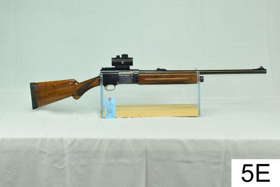 "Browning    Auto-5    12 GA    24"" Smooth Bore Slug    SN: L14399    W/BSA Red Dot    ""Stock was cut"
