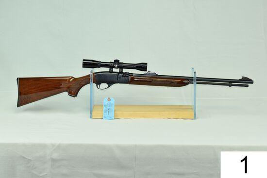 Remington    Mod 552 BDL    Speedmaster    Cal .22 LR    SN: A190945    W/Bushnell 2.5x Scope    Con