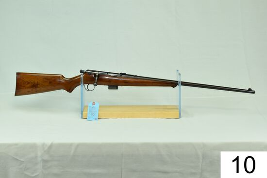 """Savage    Sporter    Cal .25-20    SN: 101061    """"Gun was refinished""""    Condition: 60% Refinished"""