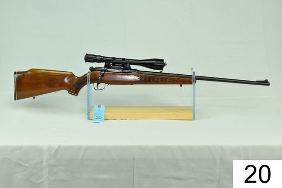 Savage    Mod 340 Series E    Cal .225 Win    SN: 8466656    W/Bausch & Lomb 2-8x Scope    Condition