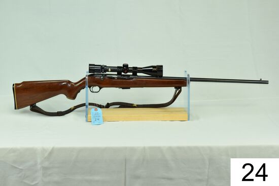 """Mossberg    Mod 640-KA    Cal .22 Mag    W/Red Arrow 3-9x Scope    """"Gun was refinished""""    Condition"""