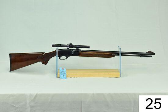 Remington    Mod 552 BDL Speedmaster    Cal .22 LR    SN: A1976652    W/Bushnell 4x Scope    Conditi