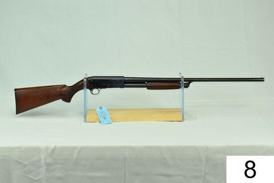 "Ithaca    Mod 37    20 GA    26"" I.C.    SN: 175956    ""Gun was refinished""    Condition: 75% Refini"