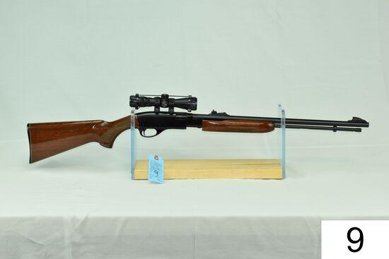Remington    Mod 572 BDL Fieldmaster    Cal .22 LR    SN: A1633201    W/Simmons 4x Scope    Conditio