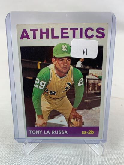 1964 Topps Tony Larussa #244 Rookie HOF EX