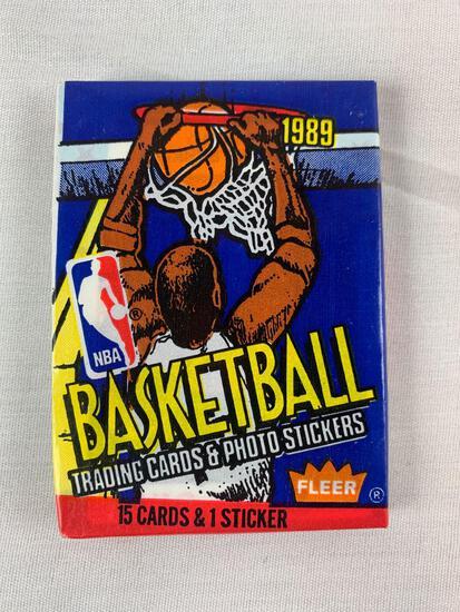 1989-90 Fleer Basketball Wax Pack - Super Hot!
