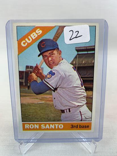 1966 Topps Ron Santo #290 NM Nice HOF