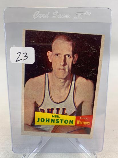 1957 Topps Neil Johnston #3 Rookie HOF