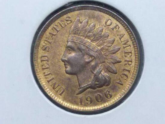 1906 INDIAN HEAD CENT UNC