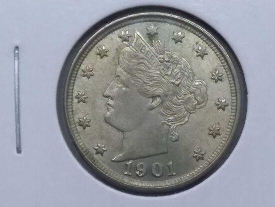 1901 V-NICKEL BU
