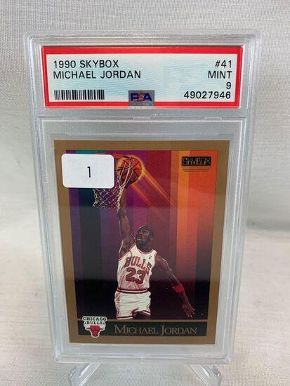 1990 Skybox Michael Jordan PSA 9