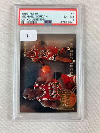 1993 Fleer Michael Jordan Living Legend PSA 6