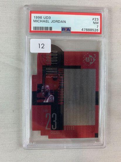 1996 UD3 Michael Jordan PSA 7