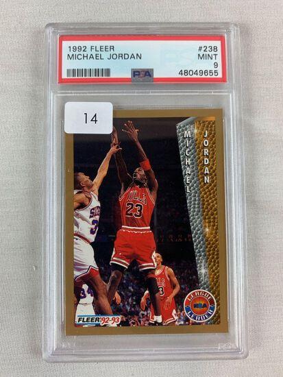 1992 Fleer Michael Jordan PSA 9