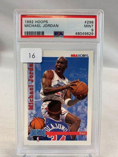 1992 Hoops Michael Jordan PSA 9