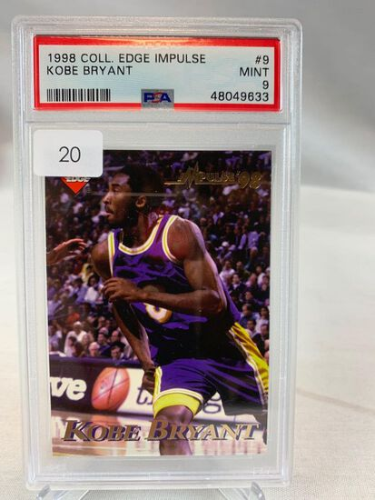 1998 Collectors Edge Kobe Bryant PSA 9
