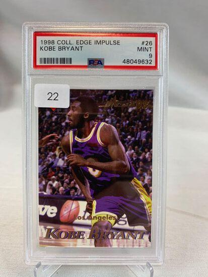 1998 Collectors Edge Impulse Kobe Bryant PSA 9