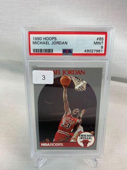1990 Hoops Michael Jordan PSA 9